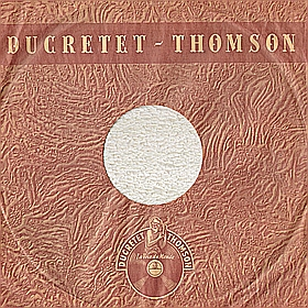 "Ducretet-Thomson, 10"" (Ducretet-Thomson, 25 cm) (mgj)"