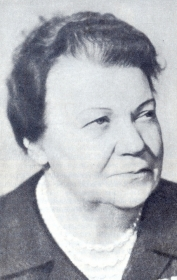 Irma Petrovna Jaunzem. The photo. (Ирма Петровна Яунзем. Фотография.) (Belyaev)