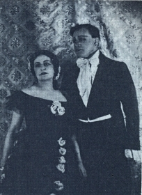 "N.K. Pechkovsky and E. Bandranska-Turska. ""Traviata"". The photo. (Н.К. Печковский и Е. Бандровска-Турска. ""Травиата"". Фотография.) (Belyaev)"