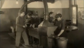 Technological process for the production of gramophone records in the workshop of the Pyatigorsk production plant Mestprom (Технологический процесс производства граммофонных пластинок в цехе Пятигорского производственного комбината Местпром) (Plastmass)