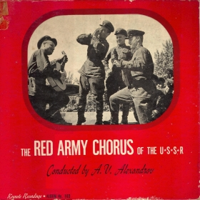 Keynote set K-103 (The Red Army chorus cond. by A. V. Alexandrov) (Альбом Keynote K-103 (Анс. песни и пляски Кр. Армии п/у А. В. Александрова)), songs (mgj)