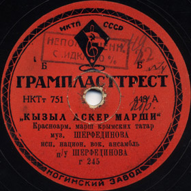 Red Army March, march song (Versh)